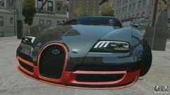 Bugatti Veyron 16.4 Super Sport para GTA 4