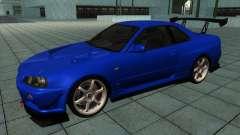 Nissan Skyline R-34 GT-R M-spec Nur