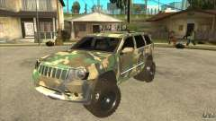 Jeep Grand Cherokee SRT8 Camo para GTA San Andreas