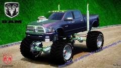 Dodge Ram 3500 2010 Monster Bigfut
