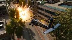 Um helicóptero com um RPG para GTA 4