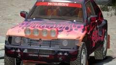 Mitsubishi Pajero Proto Dakar EK86 vinil 4