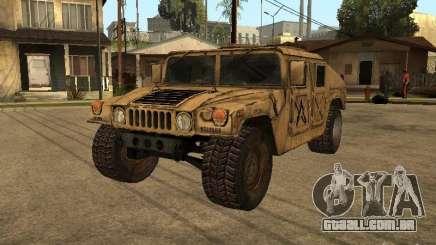 War Hummer H1 para GTA San Andreas