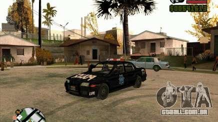 Carro de polícia de NFS: MW para GTA San Andreas