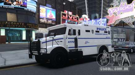 Enforcer Emergency Service NYPD para GTA 4
