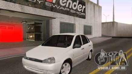 LADA Kalina sedan para GTA San Andreas