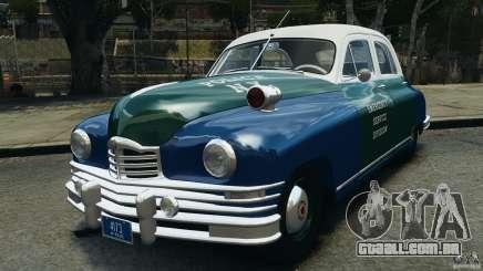 Packard Eight Police 1948 para GTA 4