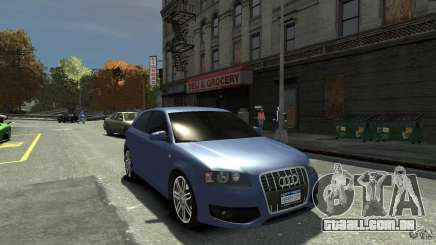 Audi S3 2006 v 1.1 tonirovanaâ para GTA 4