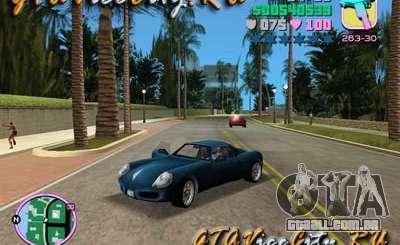 Porshe de GTA 3 para GTA Vice City