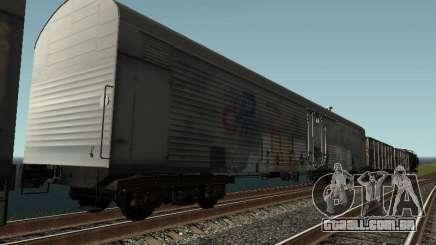 Carroça Refrežiratornyj Dessau n º 8 pintado para GTA San Andreas