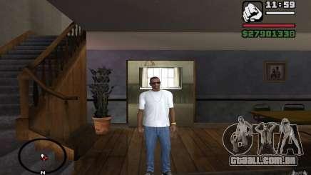 Calça jeans skinny para GTA San Andreas