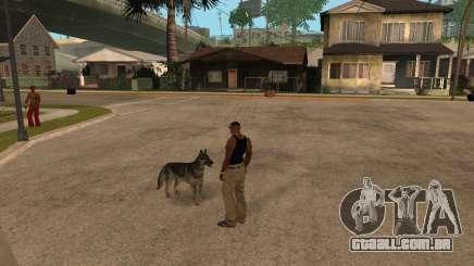 Cachorro no GTA San Andreas para GTA San Andreas