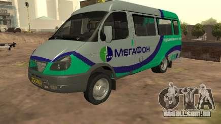 Gazela 32213 megafone para GTA San Andreas