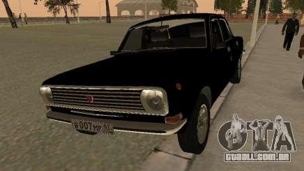GAZ 24-10 Volga preto para GTA San Andreas