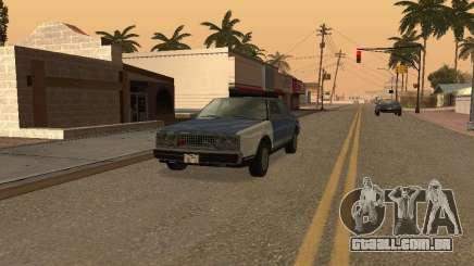 O táxi de romanos de GTA4 para GTA San Andreas