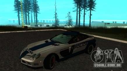 Mercedes-Benz SLR 722 SCPD para GTA San Andreas