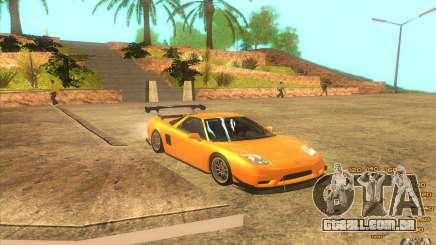 Honda NSX J2HIN para GTA San Andreas
