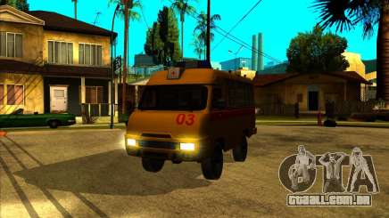 UAZ 3962 Medical para GTA San Andreas