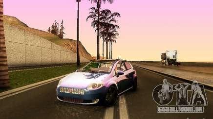 Fiat Punto Multijet para GTA San Andreas