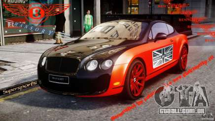 Bentley Continental SS 2010 Le Mansory [EPM] para GTA 4
