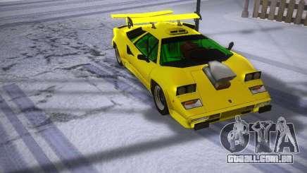 Lamborghini Countach LP5000 para GTA San Andreas