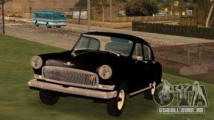 GAZ 21R preto para GTA San Andreas
