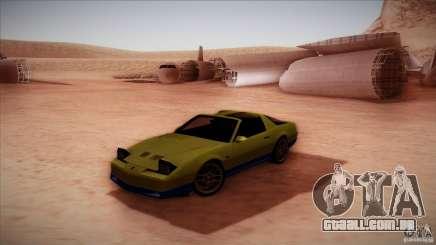 Pontiac Firebird Trans Am para GTA San Andreas