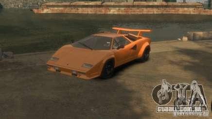 Lamborghini Countach LP500 1985 para GTA 4