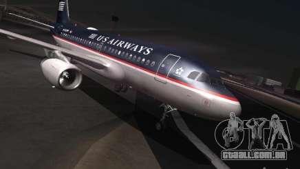 Airbus A319 USAirways para GTA San Andreas