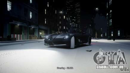Mercedes Benz McLaren SLR Stirling Moss para GTA 4