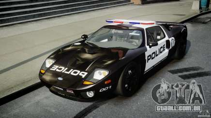 Ford GT1000 Hennessey Police 2006 [EPM][ELS] para GTA 4
