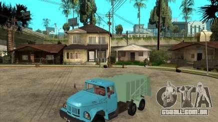 Caminhão de lixo ZIL-131 para GTA San Andreas