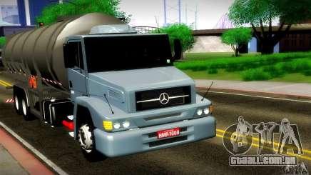 Mercedes-Benz L1620 Tanque para GTA San Andreas