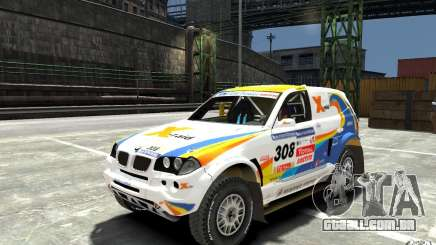BMW X3 CC DAKAR para GTA 4