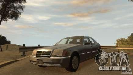 Mersedes-Benz 500SE Wheels 2 para GTA 4