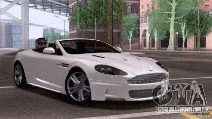 Aston Martin DBS Volante 2009 para GTA San Andreas