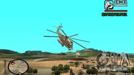Sikorsky MH-53 com escotilha fechada para GTA San Andreas