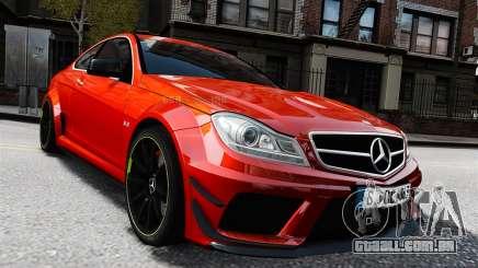 Mercedes-Benz C63 AMG 2012 para GTA 4