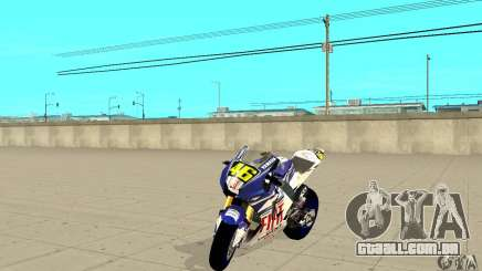 Honda Valentino Rossi Nrg500 para GTA San Andreas
