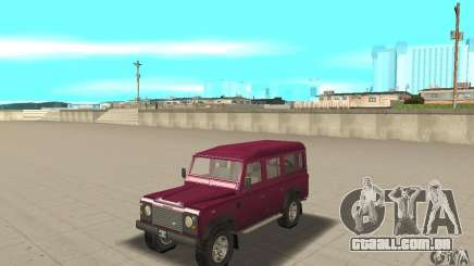 Land Rover Defender 110SW para GTA San Andreas