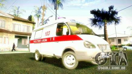 Gazela 2705 BAKU AMBULANS para GTA San Andreas