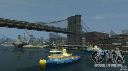 New Tug Texture v.2 para GTA 4
