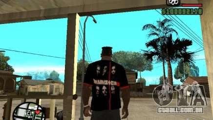 Rammstein t-shirt v3 para GTA San Andreas