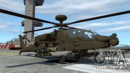 AH-64D Longbow Apache v1.0 para GTA 4