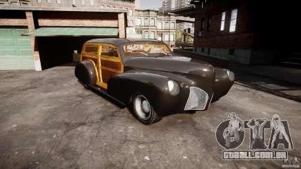 Chevy Fleetmaster Woody Kustom 1948 para GTA 4