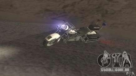 Motocicleta de polícia de GTA TBoGT para GTA San Andreas