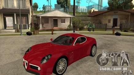 Alfa Romeo 8 c Competizione estoque para GTA San Andreas