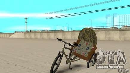 Manual Rickshaw v2 Skin2 para GTA San Andreas
