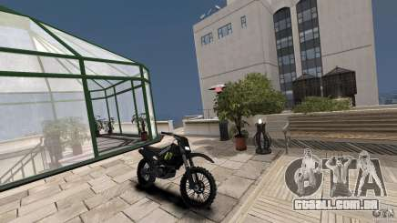 Yamaha YZFM 450 Monster Energy para GTA 4
