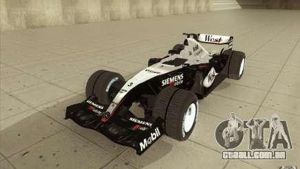 McLaren Mercedes MP 4-19 para GTA San Andreas